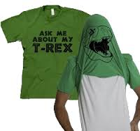 ask me out my tee rex